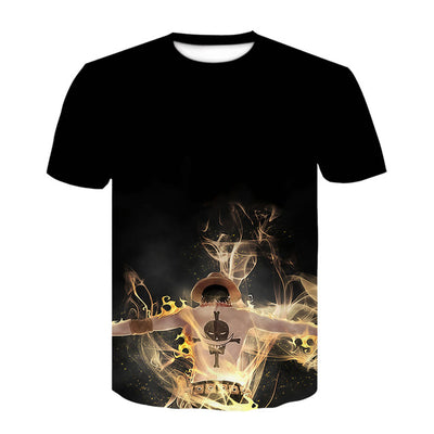 Anime One Piece Ace T-Shirt
