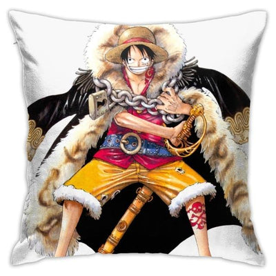King of Pirates Luffy Pillow