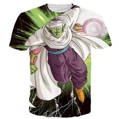 Piccolo DBZ T-Shirt - Kurama Anime Stuff