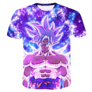Goku Ultra Instinct T-Shirt - Kurama Anime Stuff