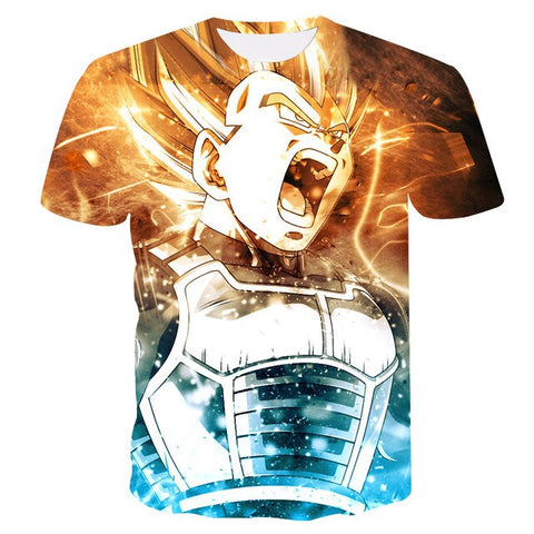 Proud Prince Vegeta T-Shirt - Kurama Anime Stuff