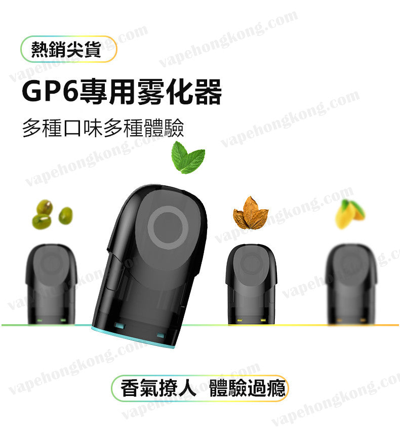 gippro pg6 pods introductions