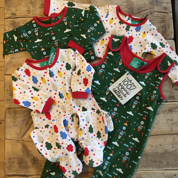Little Green Radicals Baby Edit in sale at Our Kid. Cool kids clothing Manchester