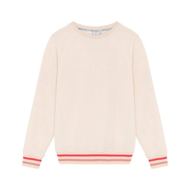 Scamp&Dude Blush Towelling Sundowner Sweatshirt at Our Kid
