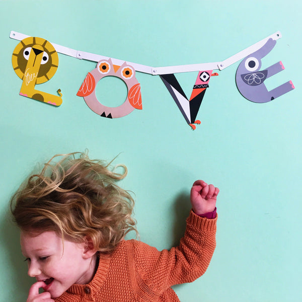 Alphabet Wall Banner Kit by The Jame Tart available at Our Kid Manchester