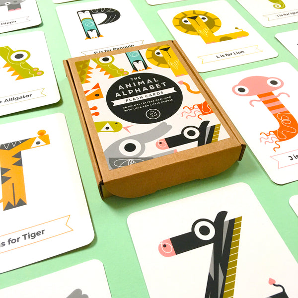 Alphabet Flash Cards by The Jam Tart available at Our Kid Manchester
