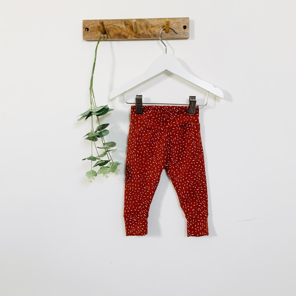 OUR KID x Albie & Sebastian - Clay Confetti and toddler leggings