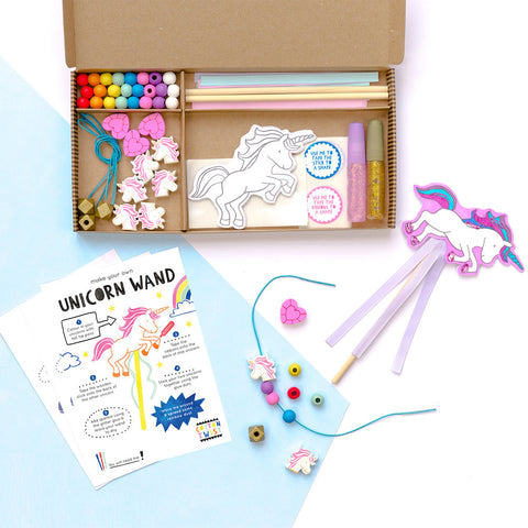 COTTON TWIST- Become A Unicorn Activity Kit