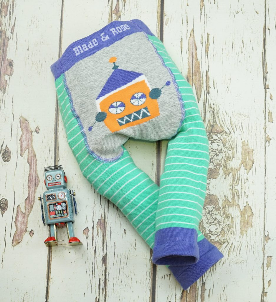 BLADE & ROSE - Baby Sketchy Robot Trouser Leggings