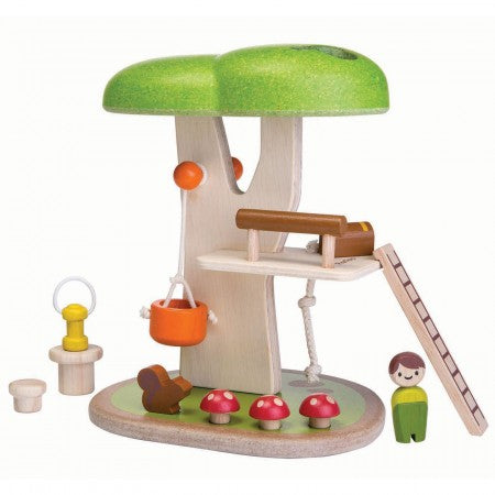 PLAN TOYS - Wooden Tree House Set