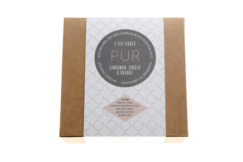 PUR CANDLES - Warm Tealights