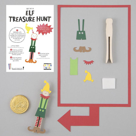 COTTON TWIST - Go On An Elf Treasure Hunt