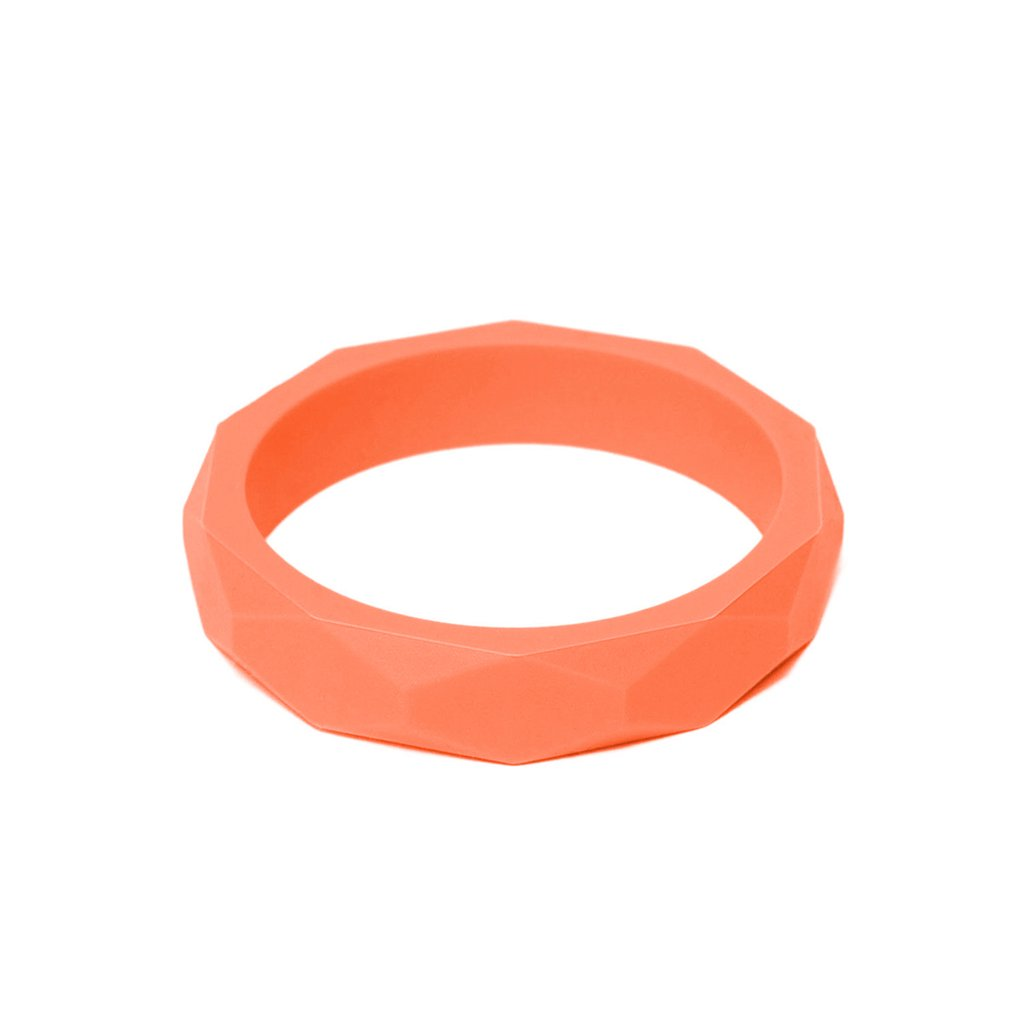 LARA AND OLLLIE - Bracelet Silicone Bangle Apricot