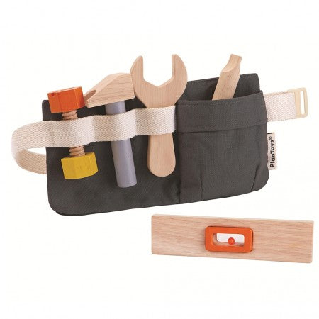 PLAN TOYS - Tool Belt Wooden Toy
