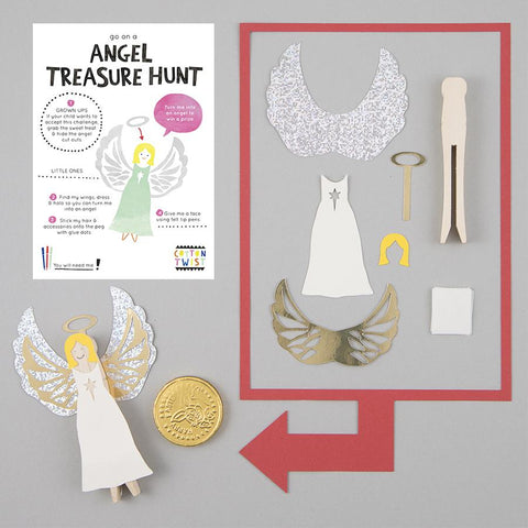 COTTON TWIST - Go On An Angel Treasure Hunt
