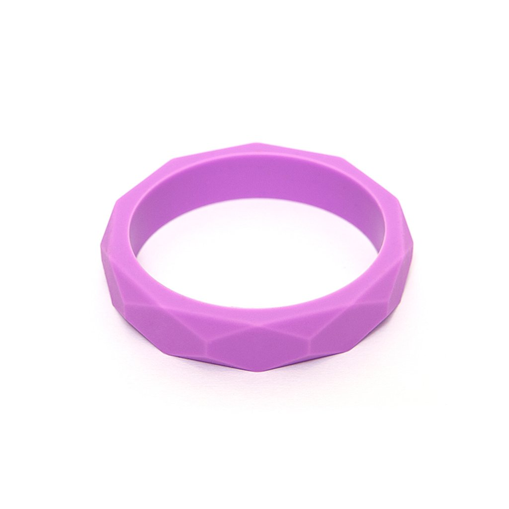 LARA AND OLLLIE - Teething Bracelet Silicone Bangle Crocus