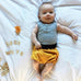 ORGANIC ZOO - Mustard Bloomers with Grey