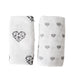 MAMA DESIGN - Muslin Swaddle Geometric Hearts