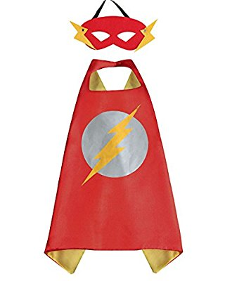 Superhero Cape and Mask - Flash