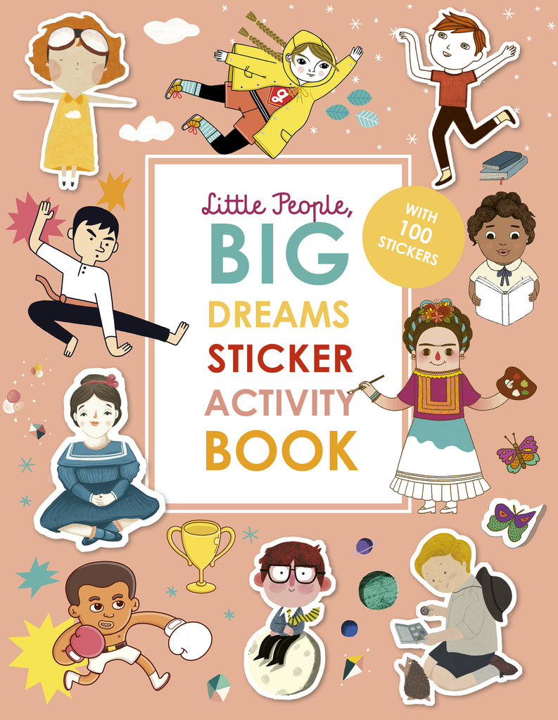 Little People Big Dreams Activity Sticker Book