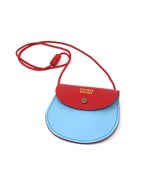 Ark - Blue & Red Two Tone Pocket Money Purse