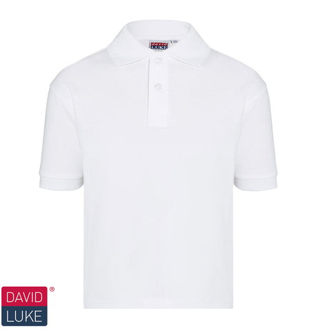 David Luke - Polo Shirt – White