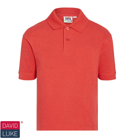 David Luke - Polo Shirt – Red