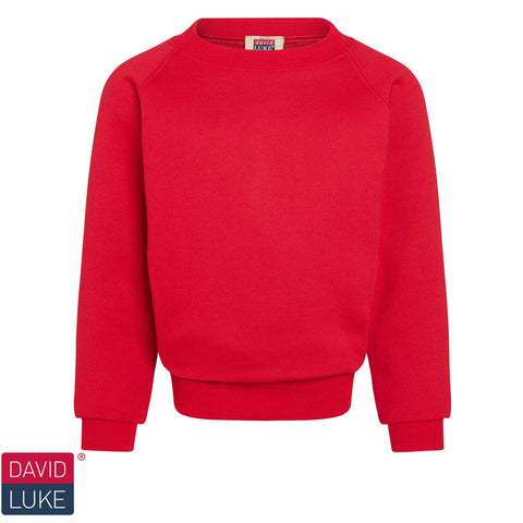 David Luke - Round-neck Sweatshirt  – Red