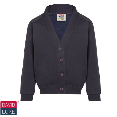 David Luke - School Uniform Cardigan  – Navy