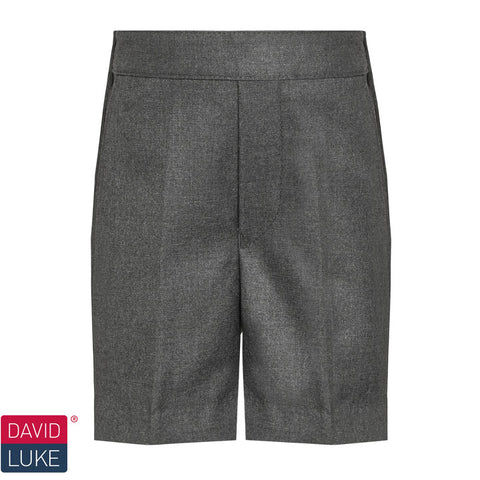 David Luke - Boys Pull-up Shorts – Grey