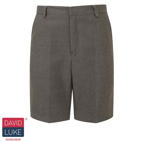 David Luke - Boys Bermuda Shorts – Grey