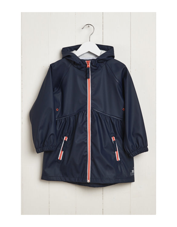 GRASS & AIR - Kids Girls Rainster Navy