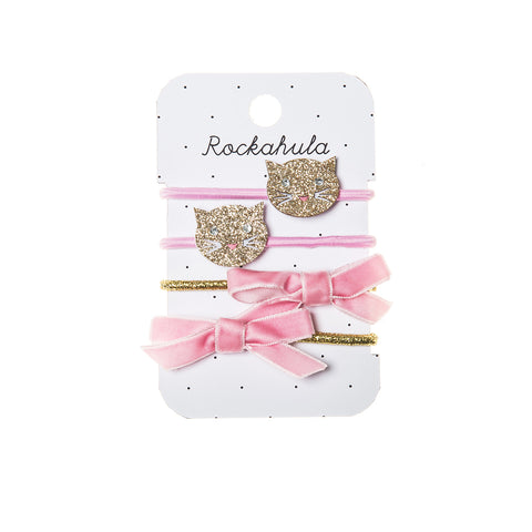 ROCKAHULA - Sparkly Cat Clips Ponies