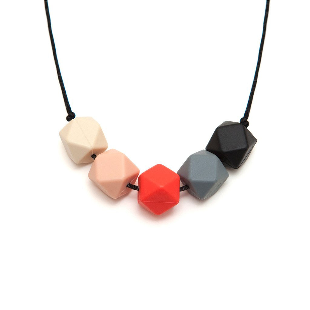 LARA AND OLLLIE - Silicone Teething Necklace Bea