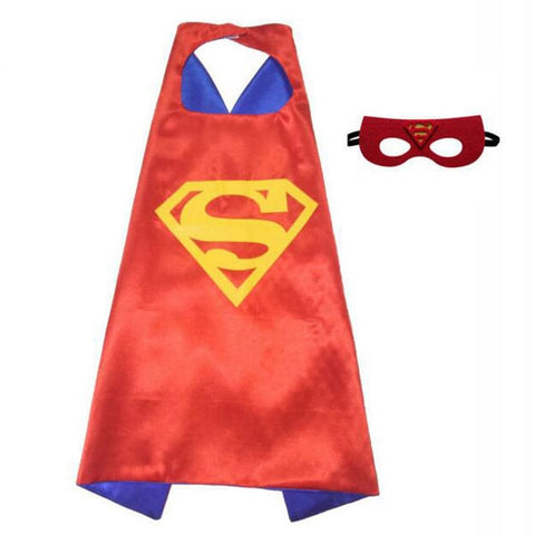 Superhero Cape and Mask -Supergirl