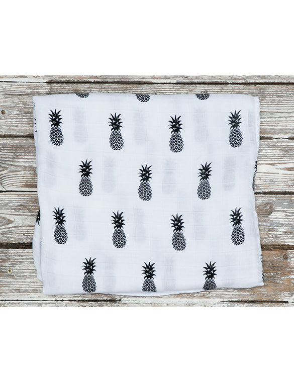 MAMA RULES - Organic XL Pineapple Muslin