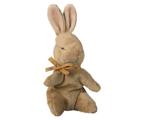 Maileg - Baby Bunny with Ocher Ribbon at Our Kid