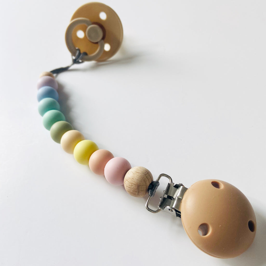 MAMA KNOWS - Dummy Clip - Pastel Rainbow