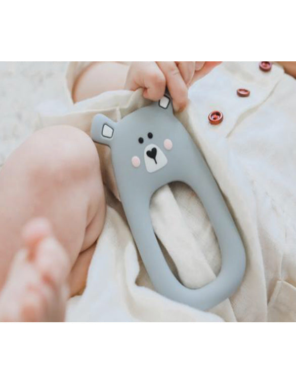 MAMA KNOWS - Bear Teether - Grey