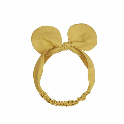 MIMI & LULA - Minnie Bow Bando Lime Yellow