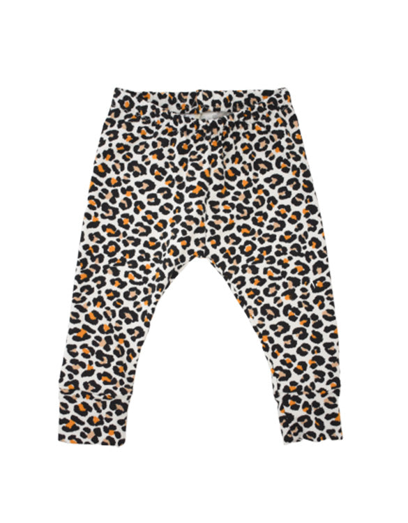 OUR KID x Albie & Sebastian - Leopard baby and toddler leggings
