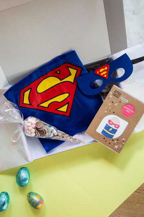 Easter Special Super Kid Letterbox Gift with Egg craft and Chocolate