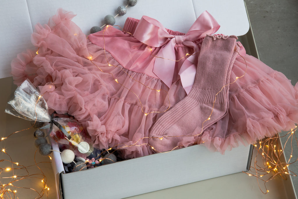 Our Kid Blush Pink Tutu Gift Box - Party Kid