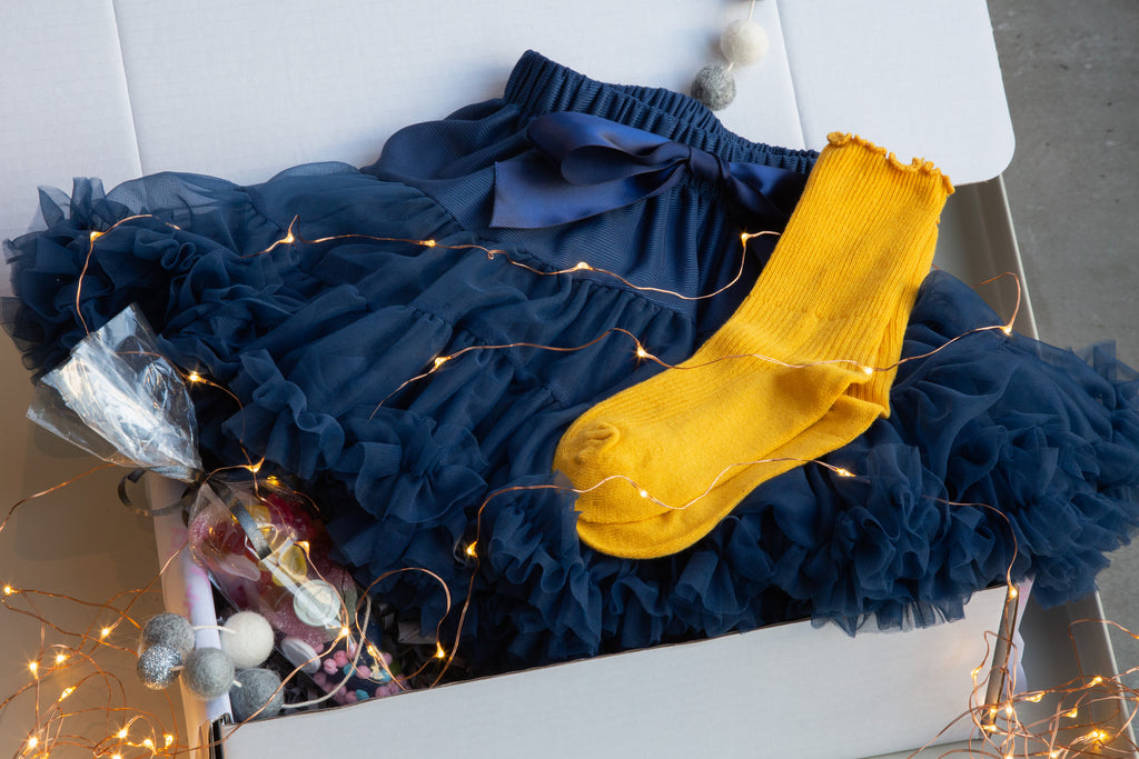 Our Kid Navy Tutu Gift Box - Party Kid