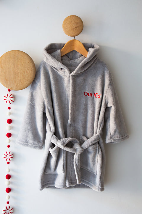 Our Kid Dressing Gown Robe for Toddler