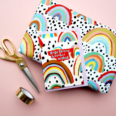 Eleanor Bowmer:  Rainbow Gift Wrap