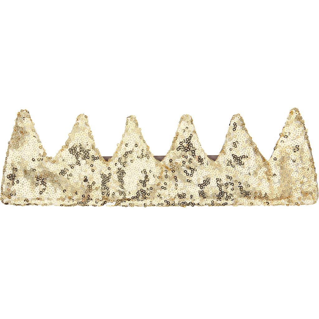 MIMI & LULA - Gold Sequin crown