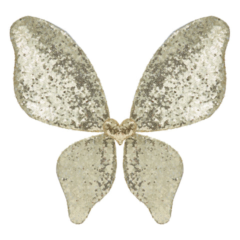MIMI & LULA - Gold Sparkle sequin wings