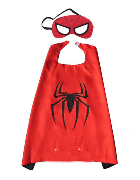 Superhero Cape and Mask - Spiderman