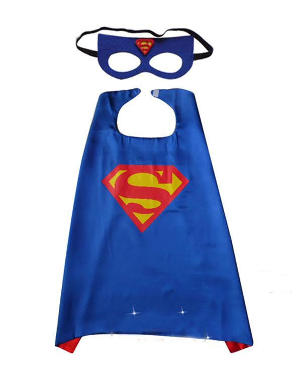 buy superhero cape and mask superman at our kid